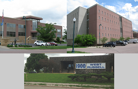 Law Enforcement Center, Minnehaha County Jail and Minnehaha County Corrections Center