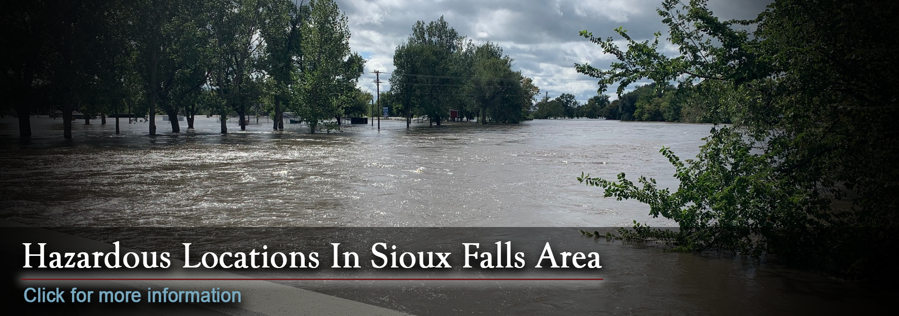 Hazardous Locations in the Sioux Falls Area