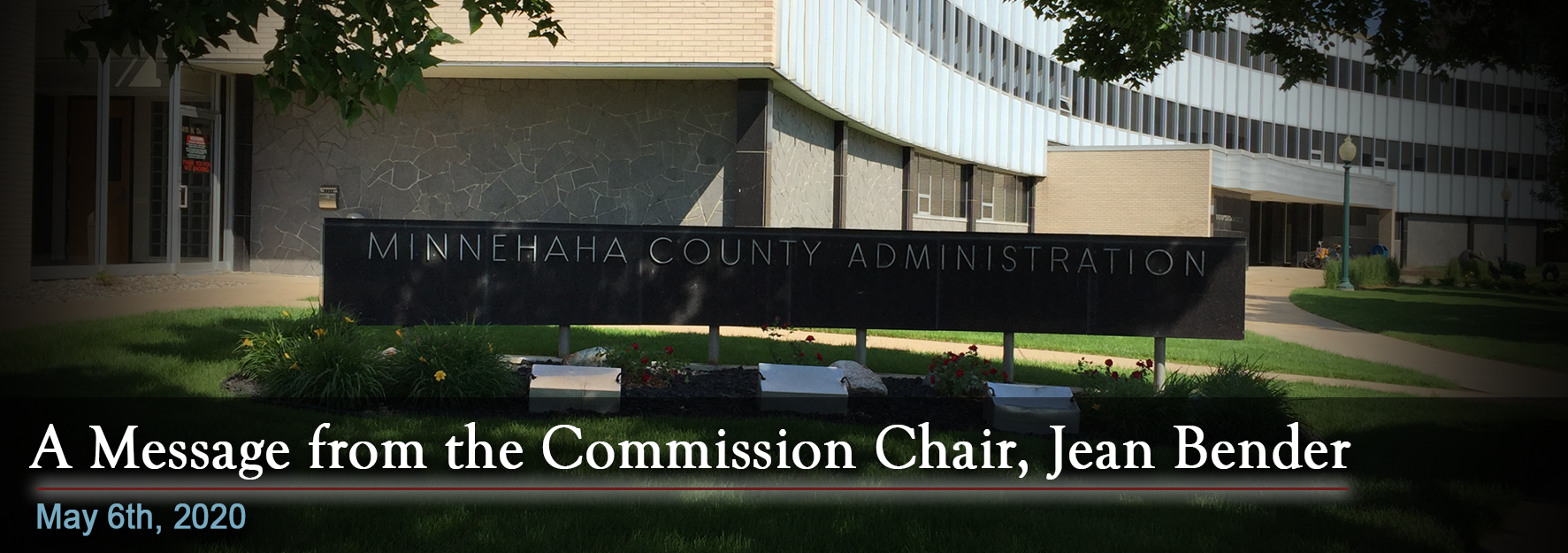 A Message From the Commission Chair, Jean Bender
